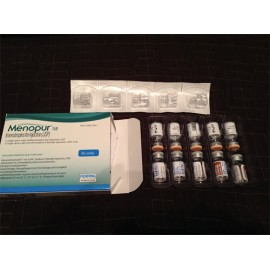 Изображение товара: Менопур Menopur HP 75I.E.+Zubehoer/ 5Шт