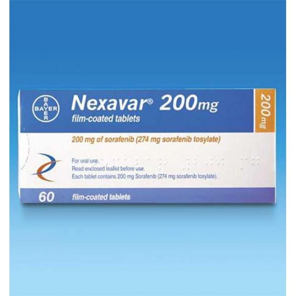 Нексавар Nexavar 200MG - 112 Шт