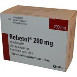 Изображение товара: Ребетол Rebetol 200MG/168 Шт