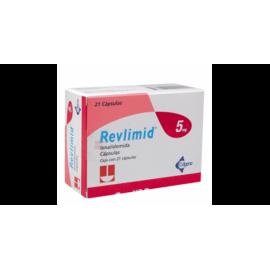 Изображение товара: Ревлимид Revlimid 5 мг/21 капсул