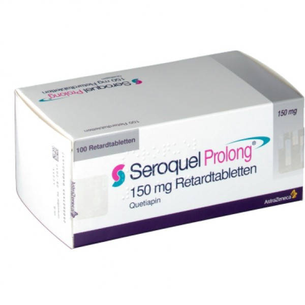 Сероквель Пролонг Seroquel Prolong 150 Mg Retardtabletten (Quetiapin) 100X150 MG