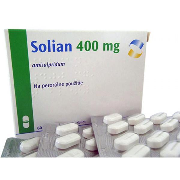 Солиан Solian 400 MG (Amisulprid) 100 Шт