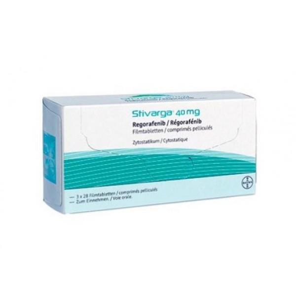 Стиварга Stivarga (Регорафениб) 3х28 таблеток