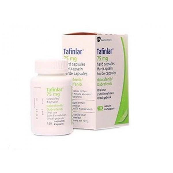 Дабрафениб Dabrafenib (Тафинлар) 75 мг/120 капсул