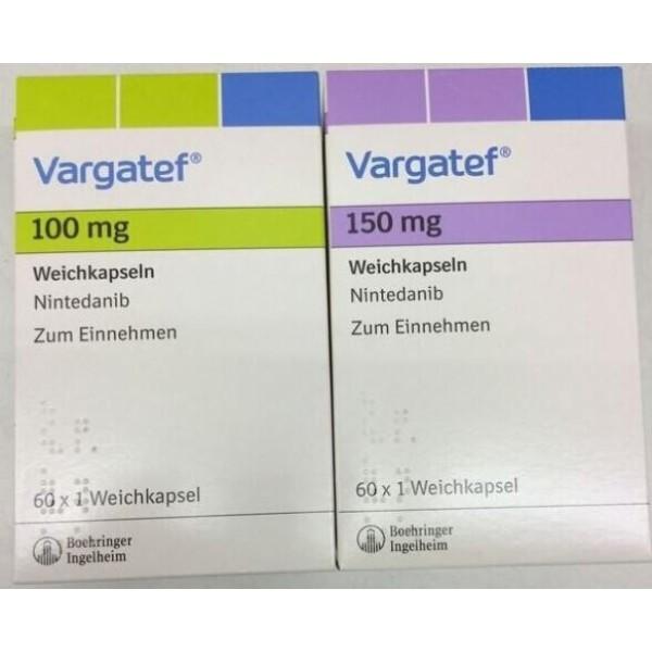 Варгатеф Vargatef (Нинтеданиб) 150 мг/60 капсул