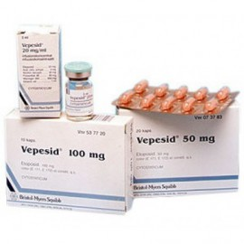 Изображение товара: Вепезид Vepesid 50 мг/20 капсул