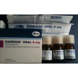 Изображение товара: Заведос Zavedos 5 мг/3 капсулы