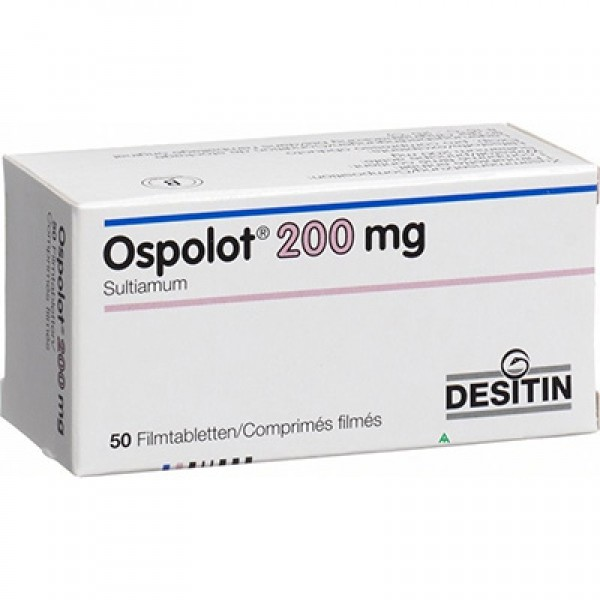 Осполот Ospolot 200mg (Sultiam) 4X50шт
