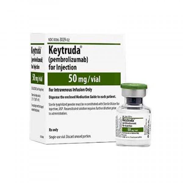 Кейтруда Keytruda (Пембролизумаб / Pembrolizumab) 50 мг/1 флакон