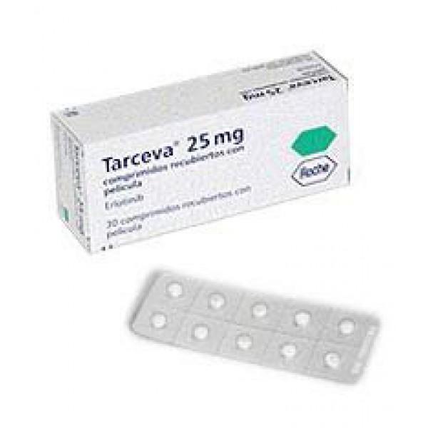 Тарцева Tarceva 25 mg 30 шт