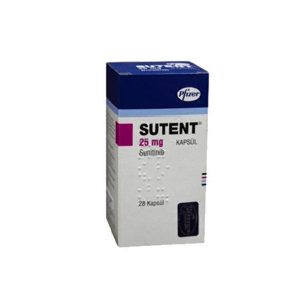 Сутент Sutent 25 мг/30 капсул