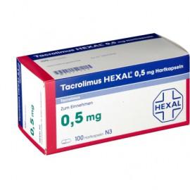 Изображение товара: Такролимус Tacrolimus HEXAL 0,5MG/100 шт