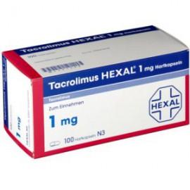 Изображение товара: Такролимус Tacrolimus HEXAL 1MG/100 шт