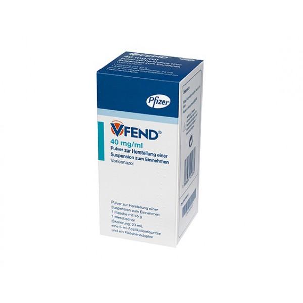Вифенд Vfend суспензия 40 мг/мл